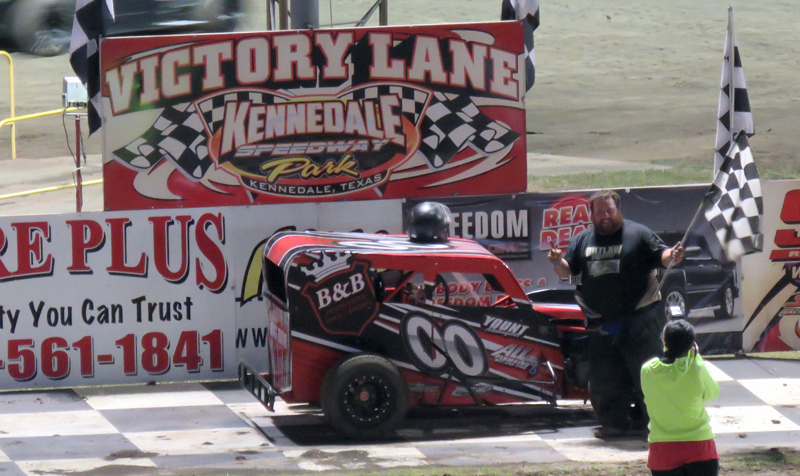 Chase Neill was the feature winner of the exciting Factory