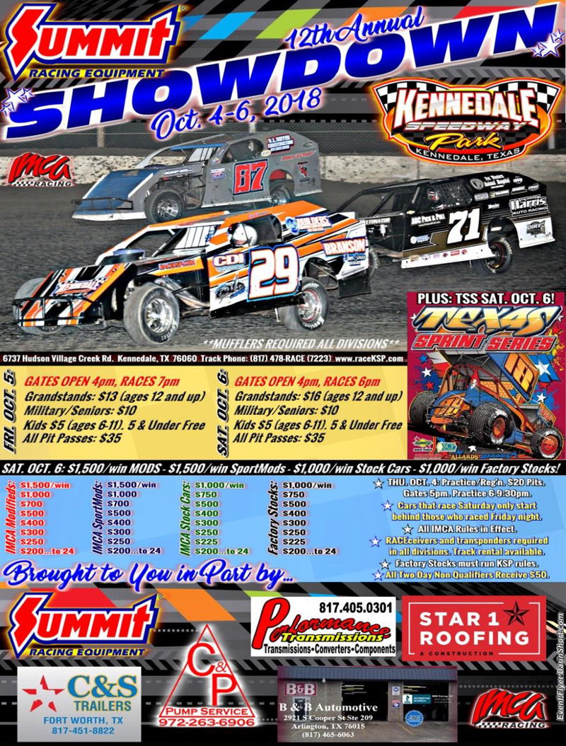 SHOWDOWN Flyer
